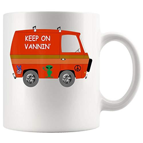 KEEP ON VANNIN Mug Coffee Mug 11oz Gift Tea Cups 15oz
