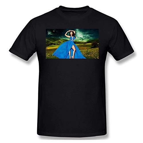IUBBKI Herren Basic Kurzarm T-Shirt Men Print with Nicki Minaj Picture Fashion Short Sleeve T-Shirt