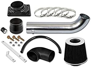 RL Concepts Black Short Ram Air Intake Kit + Filter 00-05 Mitsubishi Eclipse 2.4L 4-cylinders / 3.0L V6 Engine 99-03 Galant 2.4L/3.0L