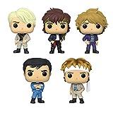 Funko Pop! Rocks Set of 5: Duran Duran - Andy Taylor, John Taylor, Nick Rhodes, Roger Taylor and Simon Le Bon
