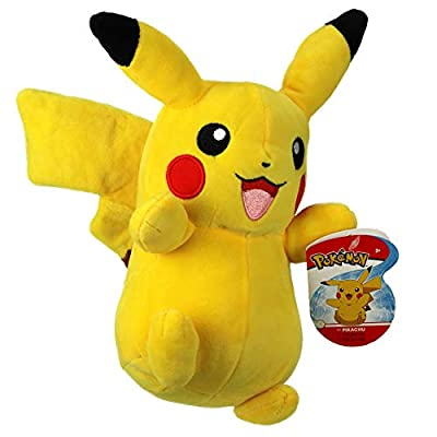 "Pokemon 95211 8"" Pikachu Plush, Yellow from Wicked Cool"