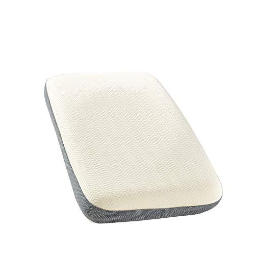 Rekaf Una Sola Almohada Cervical para Dormir La Almohada del Hotel no está deformada, cómoda, Transpirable, Suave, Resistente, Suave, amigable para la Piel, cómoda, no Lavable (54 * 34 cm)