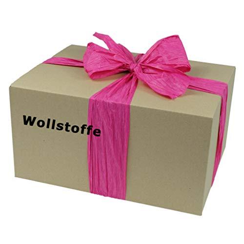 Beletage Großes Paket Restekiste Stoffreste Wollstoffe - Uni und Gemustert
