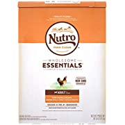 NUTRO WHOLESOME ESSENTIALS Adult Natural Dry Dog Food Farm-Raised Chicken, Brown Rice & Sweet Potato Recipe, 30 lb. Bag