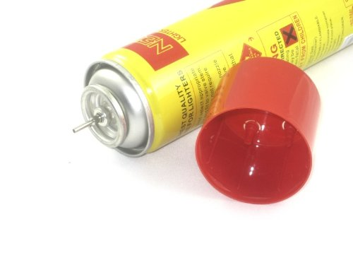 neon 3 Cans Lighter Gas Refill Butane Universal Fuel Ultra Refined 300ml 10.14Oz