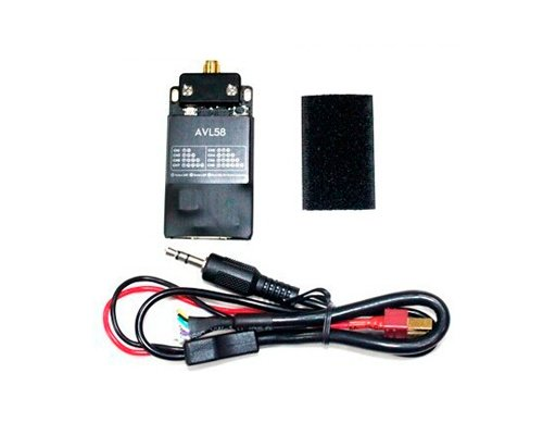 DJI Original FPV Mini AVL58 TX Lite Module 5.8GHz 8 Channel SMA Video Downlink Transmitter for DJI Phantom 1, FC40, Phantom 2, 2 Vision, 2 Vision+, DJI Flame Wheel F330, F450, F550