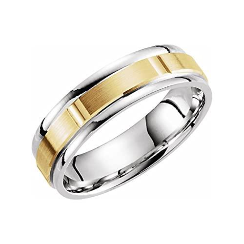 JewelryWeb Mujer oro 14 quilates (585) oro blanco
