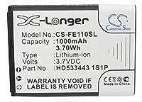 1000mAh battery for FIIO E11 HD533443 1S1P