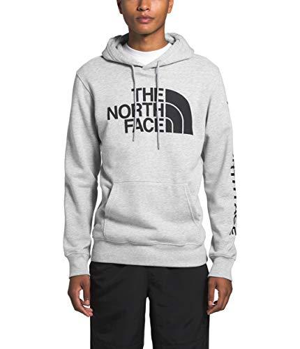 The North Face Men's Half Dome TNF Pullover Hoodie, TNF Light Grey Heather, L