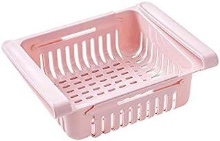 Kitchen Storage Rack Organizer Kitchen Accessories Organizer Shelf Fridge Storage Shelf Box Drainable Storage Box