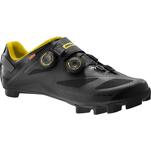 Mavic Crossmax SL Ultimate Cycling Shoe - Men's Black/Yellow Mavic, US 7.0/UK 6.5