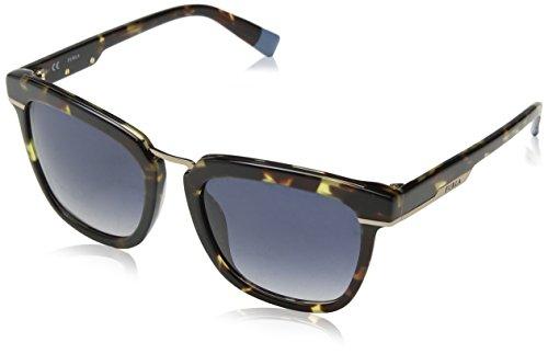 Furla Eyewear Mujer N/A Gafas de sol, Multicolor (Shiny Plum), 52