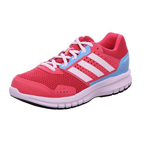 adidas Duramo 7 K - Zapatillas para niño, Color Rosa/Blanco/Azul, Talla 28