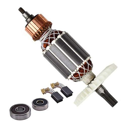Andylies Reemplazo de Ancla de Rotor de 220 V para Martillo Giratorio de VáStago Estriado Hitachi 360591E DH40MRY DH40M DH40MR DH40SR DH40FR
