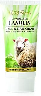 Crema de manos y uñas Wild Ferns de lanolina,