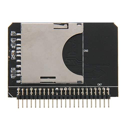 ILS -SD/SDHC/MMC a tarjeta adaptador IDE macho a 44 pines de 2,5 pulgadas