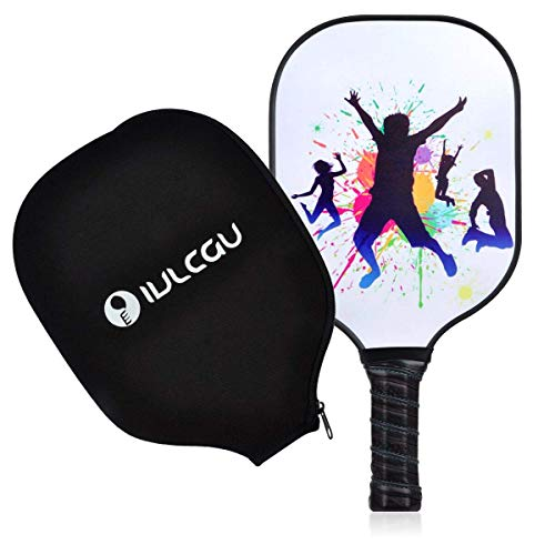 Cyrus Graphite Pickleball Paddle, Honeycomb Composite Core Pickle Ball Single Racket with Paddle Cover, USAPA Approved