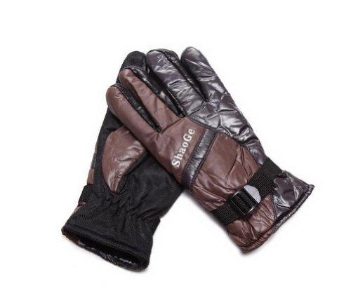 Gants de vélo Finger complet Gants brune épaisse Gants Gants de travail