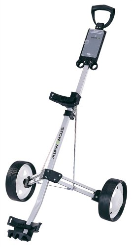 Find Bargain Stowamatic Lite Trac Aluminium Golf Pull Cart