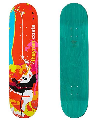 Enjoi Thaynan Splatter Panda R7 Skateboard Deck 8.75 inch Thaynan Costa