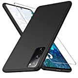 yiyiter für Samsung Galaxy S20 FE Hülle Panzerglas [PC Ultra Dünn] [Matt rutschfest] Schutzfolie Handyhülle für S20 FE 5G Hardcase Slim Stoßfeste Tasche Schutzhülle für Galaxy S20 FE