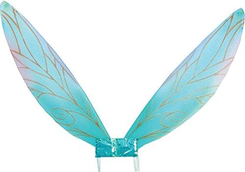Bristol Novelties Erwachsenen-Kostüm Libelle hässliche Käfer Engel Fee Pixie Flügel - Blau - Einheitsgröße