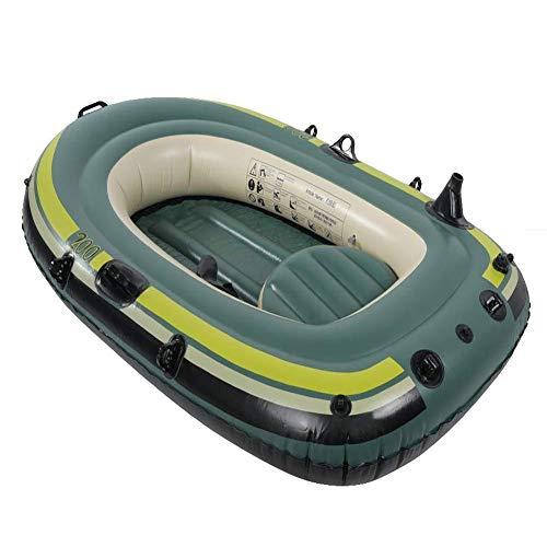 ACEWD Gommoni Gonfiabili Mare per Pesca, Canotto Gonfiabile Gommone da Pesca Canotto Gonfiabile Bambini Canoa 2 3 Posti Canoa Rigida,2 Person a