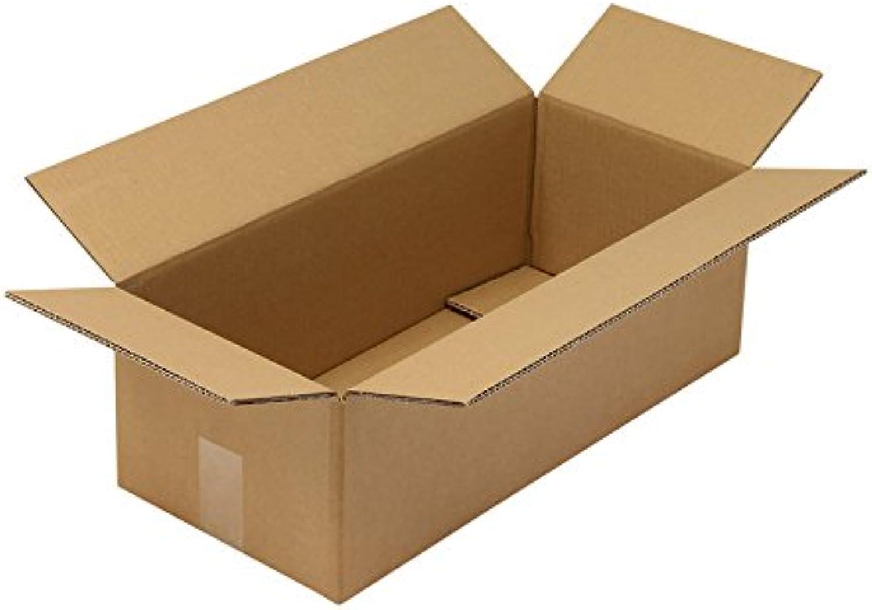 Faltkarton aus Wellpappe, 2-wellig, braun, braun, braun, Abm (LxBxH)  560x250x180mm, Qual. 2.30BC, 200 Stück B07CLDCHFT | Sehr gute Qualität  acf263