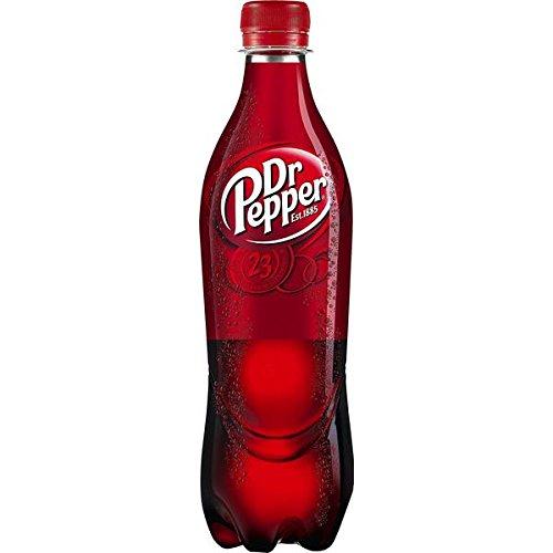 24 Flaschen Dr Pepper Cola Limonade a 500ml Orginal inc. 6.00€ EINWEG Pfand
