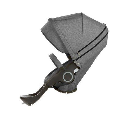 Stokke Xplory & Crusi Seat Complete - Black Melange by Stokke