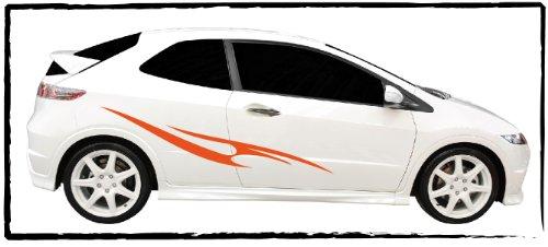 DD Dotzler Design - Autodekor Aufkleber - Motiv 1005_2 - Breite 110 cm - 1 x linke Seite 1 x rechte Seite