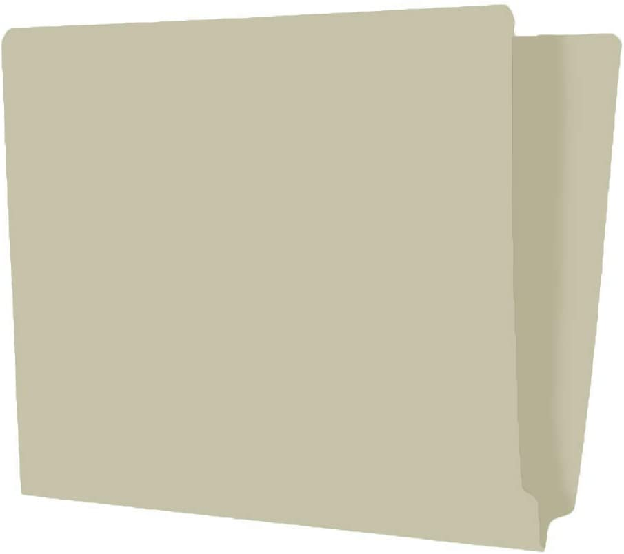 The File King Full Side Tab Manila File Folder   Letter Size   5 Boxes of 100   Additional Space for Jacket Labeling   11-Point Fiber Construction   Organize Papers at Home or The Office