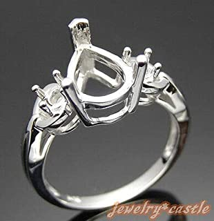 Best pear shaped semi mount ring Reviews