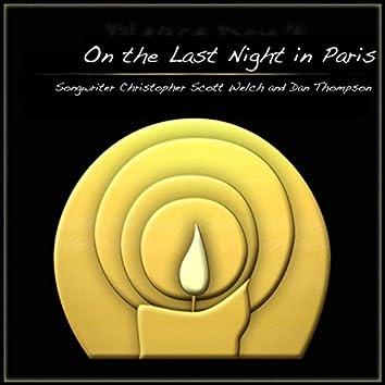 On the Last Night in Paris