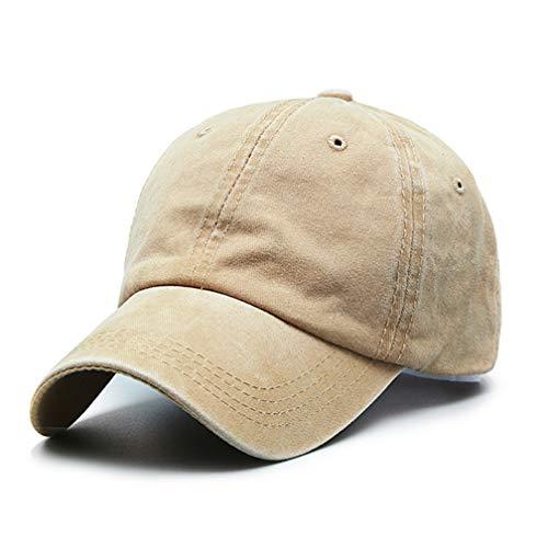 Baseball Cap, Basecap Unisex Baseball Kappen Baseball Mützen für Draussen Sport oder auf Reisen Trucker Hat (Khaki)