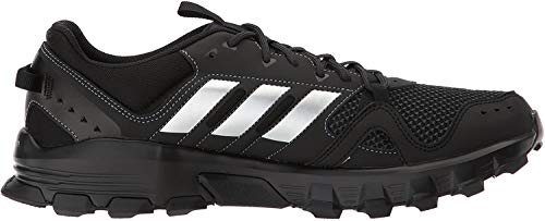 Adidas Hombres Bajos & Medios Cordon Zapatos para Correr, Core Black/Matte Silver/Carbon, Talla 10