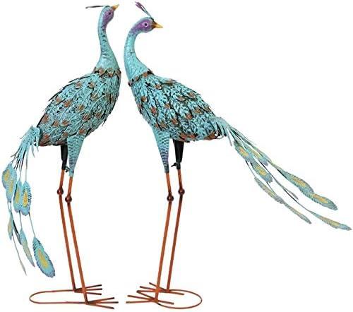 YANRUI Garden Peacock Statue Decorative Complete Free Shipping Scu Cash special price Animal Jewelry Bird