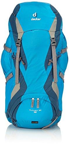Deuter Damen Rucksack Futura SL, Turquoise-Arctic, 66 x 30 x 21 cm