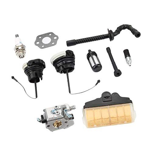 Baoblaze Kit de Ajuste de La Tapa de Aceite del Carburador 021023025 MS210 MS230