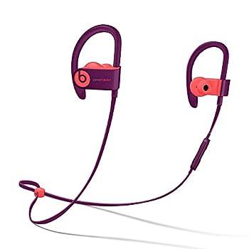 Beats Powerbeats3 Wireless Pop Violet Pop Collection in Ear Headphones MREW2LL/A  Renewed