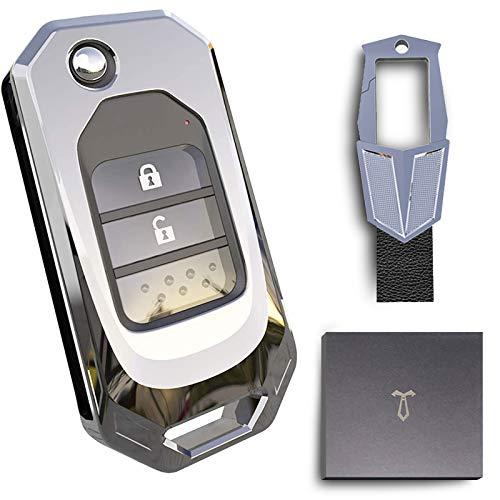 Funda para Llave Honda, Cover Mando Distancia Carcasa de Para Coche Honda Accord Civic CRV XRV HR-V