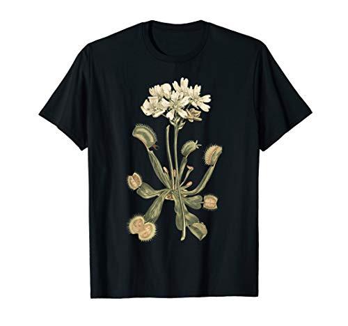 Fleischfressende Pflanzen Venus Fliegenfalle Karnivore Shirt