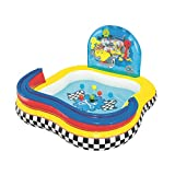 Bestway 91015 Mickey Clubhouse Piscina gonfiabile per bambini, 157 x 157 x 91 cm