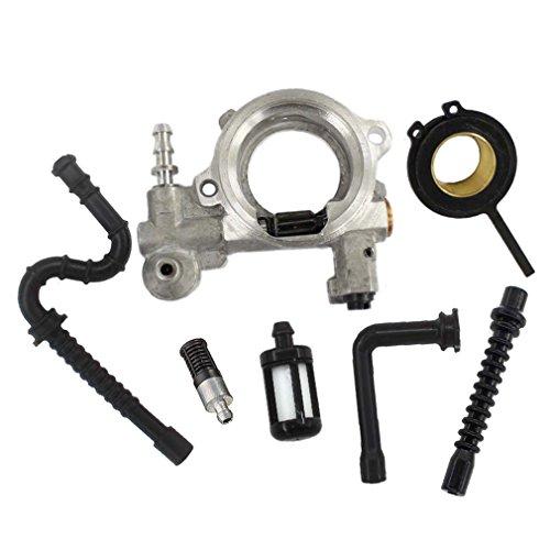 AISEN Ölpumpe & Antrieb/Ölpumpenantrieb Schnecke für Stihl 026 MS260 024 MS240 Motorsäge Kettensäge