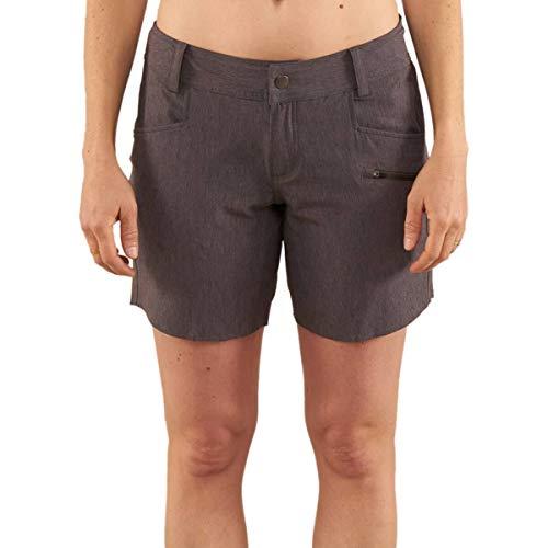 Club Ride Apparel Eden Cycling Short - Women's Biking Shorts with Removable Chamois Liner - Asphalt - XL