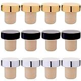 Best Bottle Stoppers - Tastebar Wine Stoppers,12PCS Wine Corks,T-plug Cork,Reusable Red Wine Review