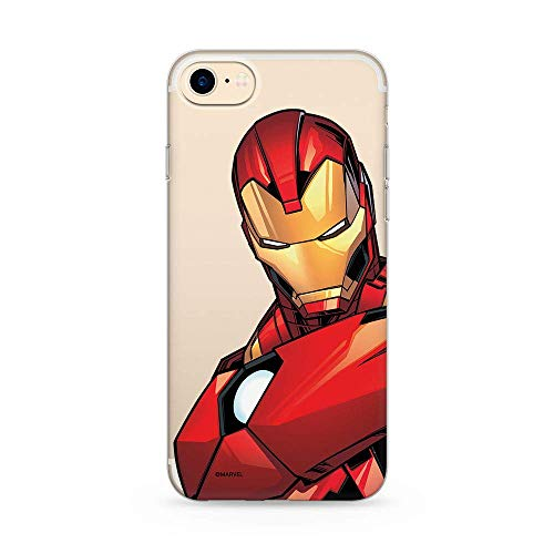 ERT GROUP Original Marvel Iron Man TPU Case for iPhone 7, iPhone 8, iPhone...