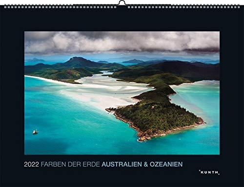 Farben der Erde Australien & Ozeanien 2022: Wandkalender
