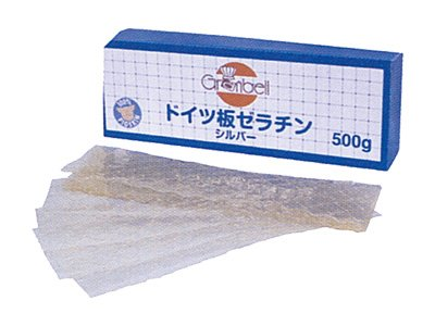 グランベル 板ゼラチンシルバー 500g
