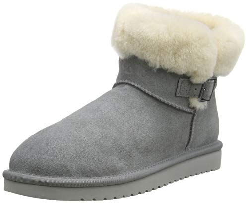 Koolaburra by UGG Women's Sulana Mini Boot, Wild Dove, 40 EU